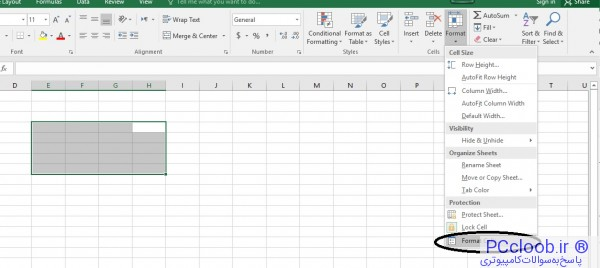 Merge multiple cells or merge into excel