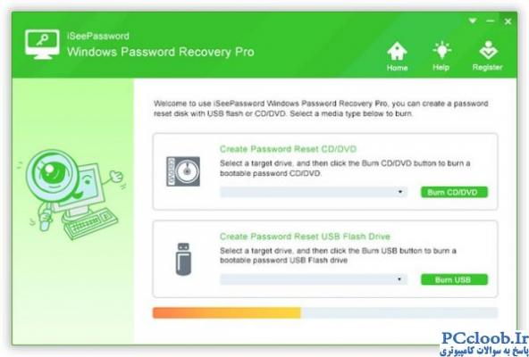 iSeePassword Windows Password Recovery Pro
